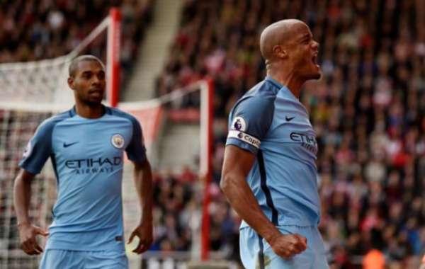 Imagens de Southampton 0 x 3 Manchester City