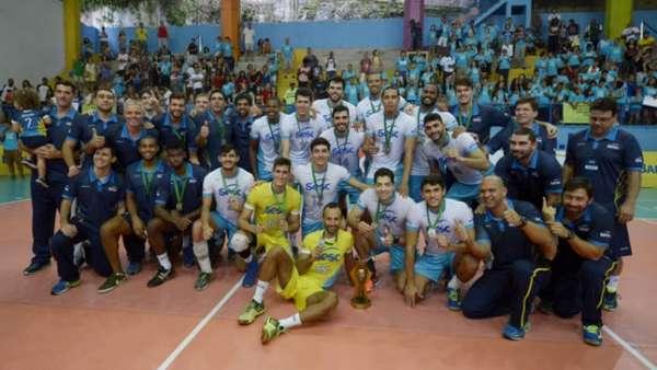 SESC-RJ Campeão da Superliga B 2017