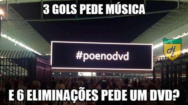 Os melhores memes da eliminação do Corinthians para o Internacional na Copa do Brasil