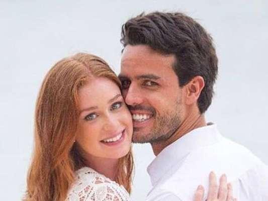 Marina Ruy Barbosa e Xandinho Negrão estão montando um esquema de segurança para o casamento, no dia 7 de outubro em Campinas, no interior de São Paulo, diz o colunista Fernando Oliveira, do jornal 'Agora São Paulo'