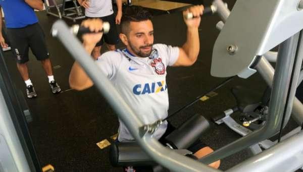 Guilherme ficou na academia, segundo assessoria do Corinthians
