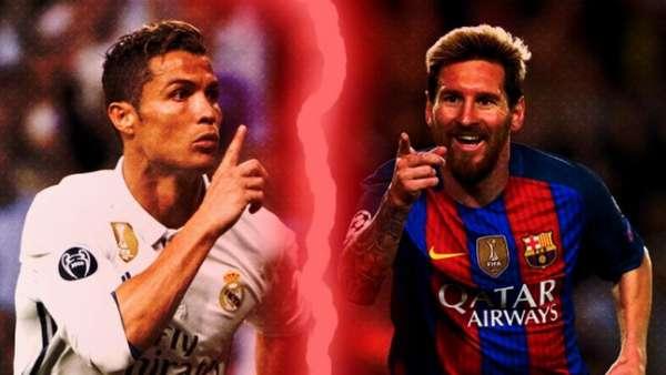 Cristiano Ronaldo e Messi vão ficar frente a frente neste domingo. Quem vai levar a melhor? Vote nos duelos do LANCE!