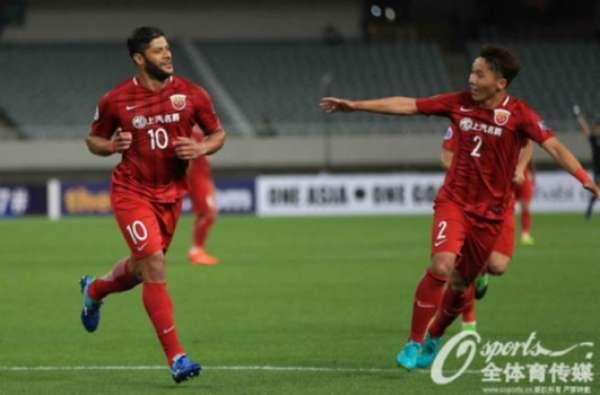 Imagens da vitória do Shangai SIPG por 4 a 2
