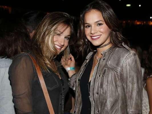 Sasha Meneghel e Bruna Marquezine são amigas de longa data