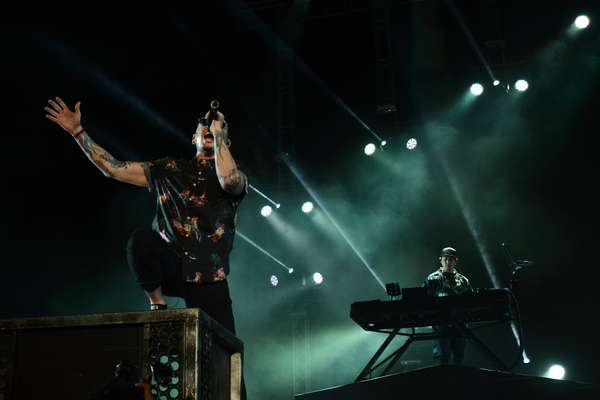 Linkin Park ofreció su primer concierto en Lima a estadio lleno. Revive los mejores momentos en imágenes.