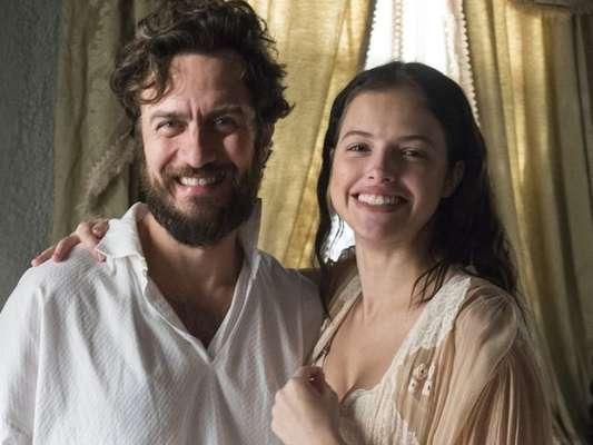 Domitila (Agatha Moreira) decide enfrentar Thomas (Gabriel Braga Nunes) depois que tem um encontro amoroso com Dom Pedro (Caio Castro), na novela 'Novo Mundo', em 24 de maio de 2017