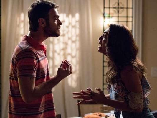 Bibi (Juliana Paes) descobrirá que Rubinho (Emílio Dantas) vende drogas pela internet nos próximos capítulos da novela 'A Força do Querer'