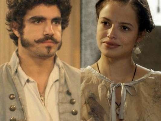 Ao saber que Domitila (Agatha Moreira) irá deixar a cidade, Dom Pedro (Caio Castro) presenteia a amante com uma casa, no capítulo que vai ao ar sábado, dia 27 de maio de 2017, na novela 'Novo Mundo'
