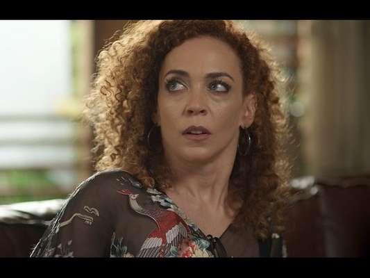 Laila (Laila Garin) é desmascarada ao tentar acabar com a relação de Eva (Alexandra Richter) e Gordo (Herson Capri), na novela 'Rock Story', a partir de 27 de maio de 2017