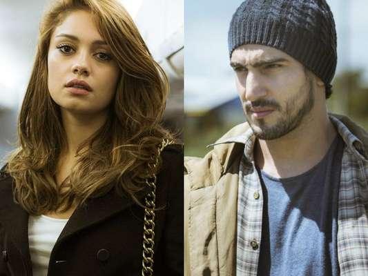 Alice (Sophie Charlotte) vê Renato (Renato Góes) após passar nove anos pensando que ele está morto, na supersérie 'Os Dias Eram Assim', a partir de 1º de junho de 2017