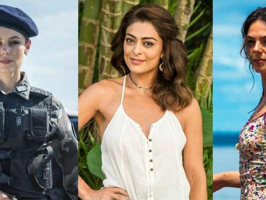 Em 'A Força do Querer', Jeiza (Paolla Oliveira) representa justiça, Bibi (Juliana Paes) simboliza o amor e Ritinha (Isis Valverde) traduz a sensualidade
