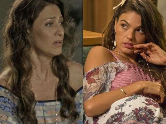 Joyce (Maria Fernanda Cândido) vai atrás de Ritinha (Isis Valverde) na casa de Bibi (Juliana Paes) pedir que ela volte para sua casa, na novela 'A Força do Querer', a partir de 24 de maio de 2017