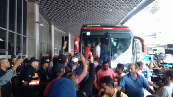 Desembarque do Flamengo