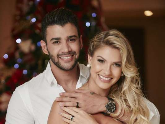 Gusttavo Lima vai tentar acompanhar o parto de Gabriel, seu filho com Andressa Suita: 'Se receber ligação, largo tudo e saio correndo'