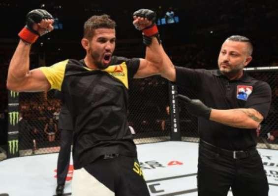 Léo Santos venceu Adriano Martins no UFC 204