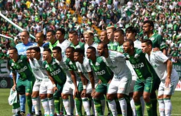 Último jogo: Chapecoense 2x2 Palmeiras - amistoso - 21/1/2017
