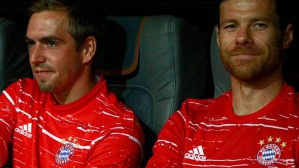 Lahm e Xabi Alonso deixarão saudade
