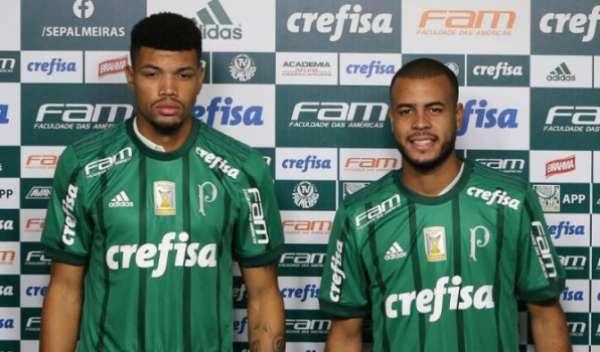 Juninho e Mayke, reforço do Palmeiras