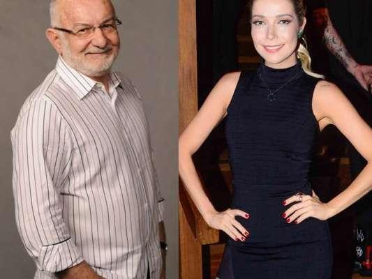 Luiza Possi cobra Silvio de Abreu por escalação em novela, no 'Domingão do Faustão', em 18 de junho de 2017