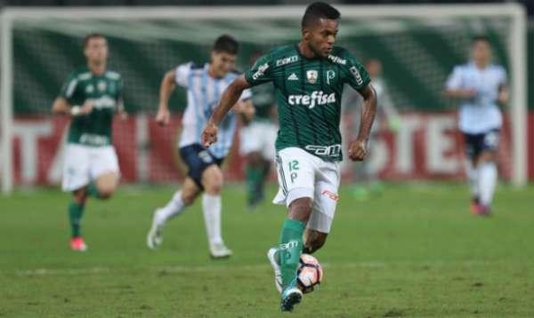 Borja durante seu último jogo como titular, contra o Tucumán
