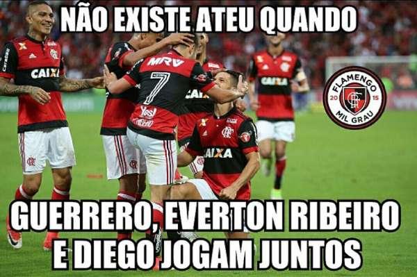 Os memes da vitória do Flamengo sobre o São Paulo