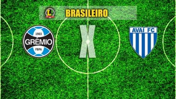 Grêmio x Avaí - Brasileiro