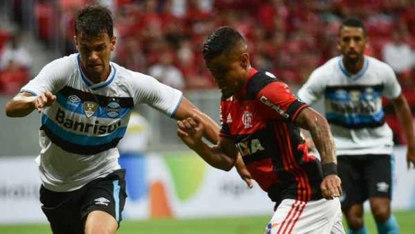 Último confronto entre as duas equipes foi pela Primeira Liga, em Brasília, no dia 8 de fevereiro deste ano. Fla venceu por 2 a 0
