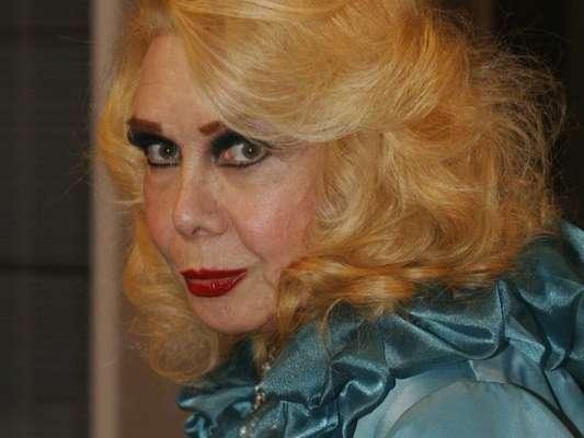 A atriz Rogéria está internada na UTI da Casa de Saúde Pinheiro Machado no bairro das Laranjeiras, no Rio de Janeiro com infecção urinária