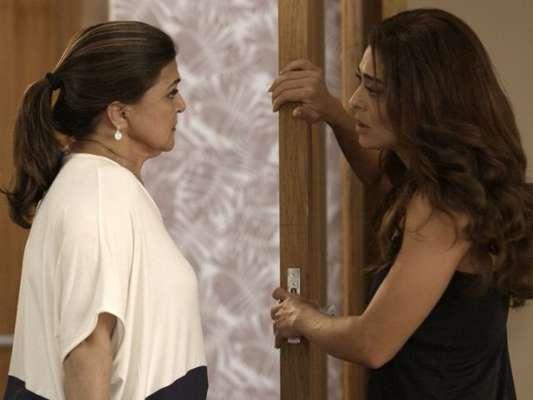 Na novela 'A Força do Querer', Bibi (Juliana Paes) oferecerá dinheiro à mãe, que recusará