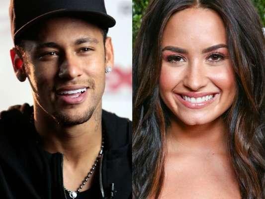 Neymar elogiou Demi Lovato em vídeo publicado no Instagram e cantora agradeceu o jogador