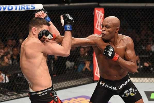 Anderson Silva quer um novo duelo contra Nick Diaz (Foto: Divulgação/UFC)
