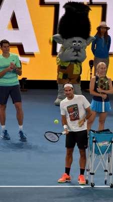 Federer operou o joelho em 2016, deixando seus fãs apreensivos em relação ao futuro