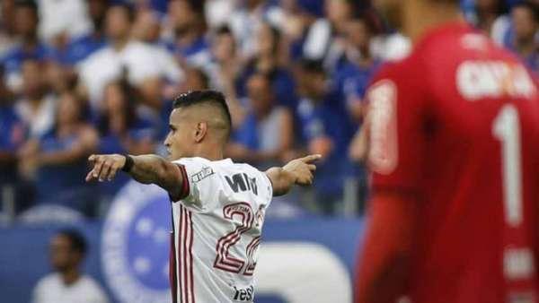 Everton vem se destacando no Flamengo