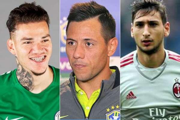 Ederson / Diego Alves / Donnarumma - Confira todos os exemplos abaixo