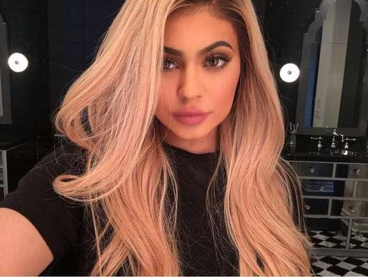Evolução dos cabelos da Kylie Jenner