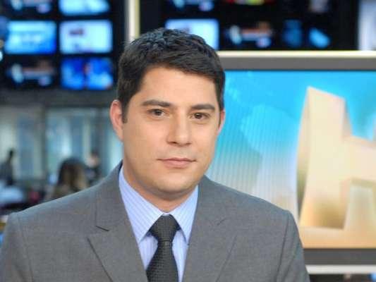 Evaristo Costa apresentou 'Jornal Hoje' pela última vez nesta quinta-feira, 27 de julho de 2017: 'Obrigado pelo carinho'
