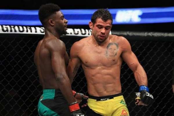 Renan Barão foi derrotado por Aljamain Sterling no UFC 214
