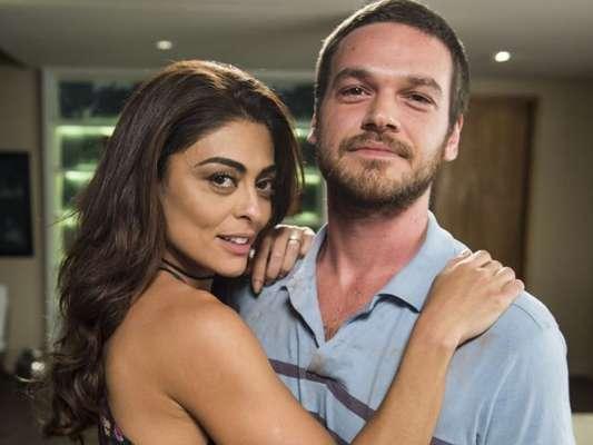 Bibi (Juliana Paes) Rubinho (Emílio Dantas) na novela 'A Força do Querer'