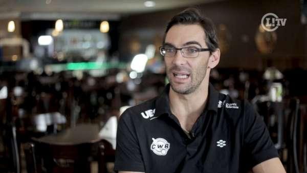 Giba é padrinho e Coordenador de Esportes do Madero CWB