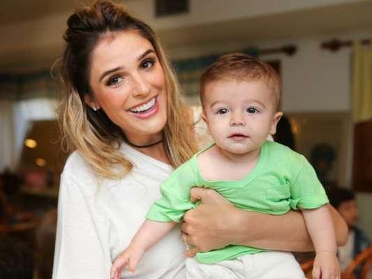 Rafa Brites mostrou o filho, Rocco, em vídeo publicado no Instagram