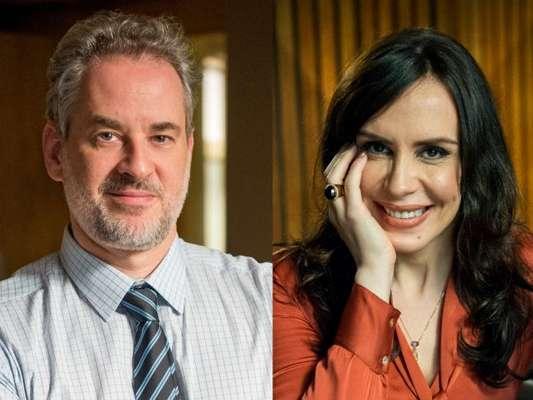 Eugênio (Dan Stulbach) descobre que Mira (Maria Clara Spinelli) é informante de Irene (Débora Falabella) e a demite, na novela 'A Força do Querer', em 7 e setembro de 2017