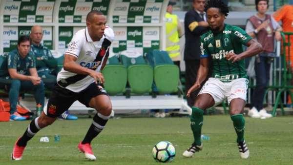 Último jogo: Palmeiras 4x0 Vasco (14/5/2017, Allianz Parque) - veja o desempenho dos clubes nas últimas cinco rodadas