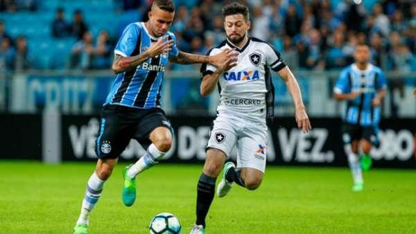 O Grêmio bateu o Botafogo por 2 a 0 no dia 14 de maio, em jogo válido pela primeira rodada do Brasileirão