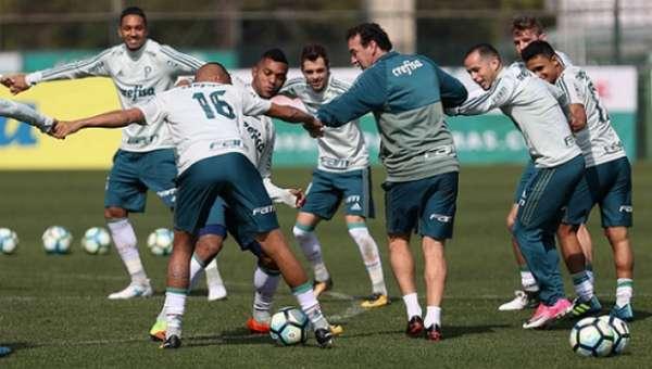 Treino do Palmeiras neste sábado (12)