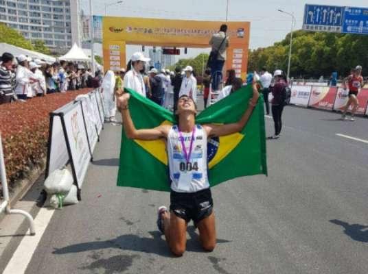 Caio Bonfim conquista primeira medalha brasileira no Mundial de Londres