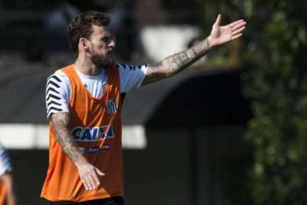 Lucas Lima no Santos: 189 jogos e 18 gols