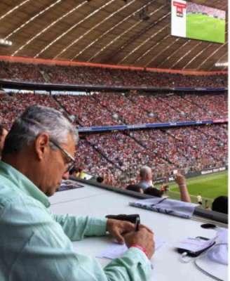 Rueda deve acompanhar ao jogo do Flamengo no estádio
