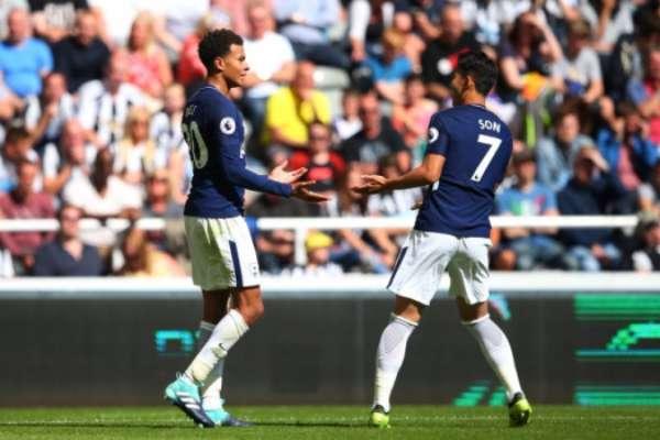 Dele Alli e Son - Newcastle x Tottenham