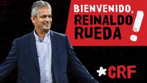 Rueda foi anunciado oficialmente pelo Flamengo