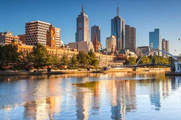 1. Melbourne, Austrália